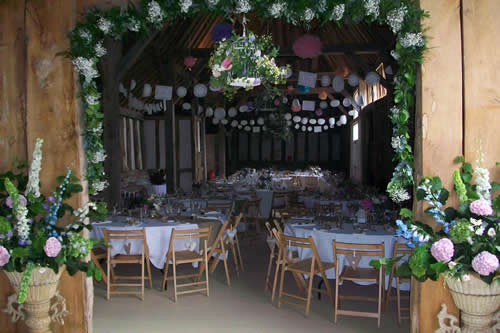 Templars Weddings' Berkshire Barn